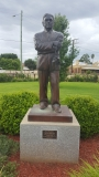 Ray Warren Statue Junee NSW