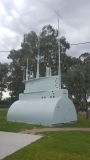 Replica AE2 Conning Tower Near HMAS Otway Holbrook NSW