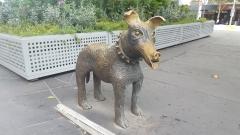 Dog Statue - Swanston St Melbourne VIC