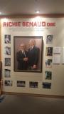 Ritchie Benaud - Bradman Museum Bowral NSW