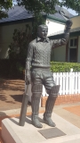 Sir Donald Bradman Statue - Bradman Museum Bowral NSW